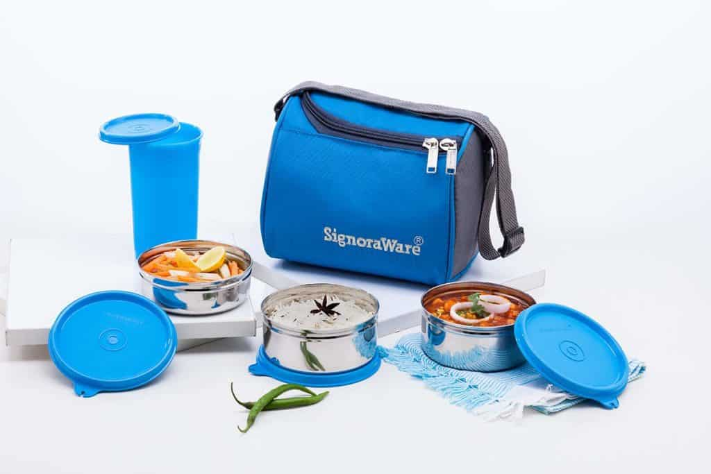 Signoraware Best Steel Lunch box