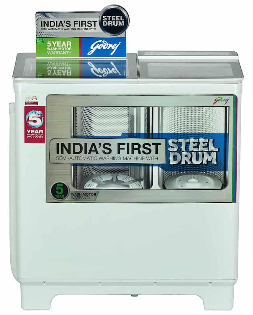 Godrej WS 800 PDS Semi-Automatic Washing Machine
