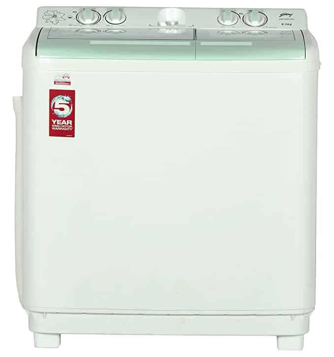 Godrej GWS PPL Semi-Automatic Top-Loading Washing Machine
