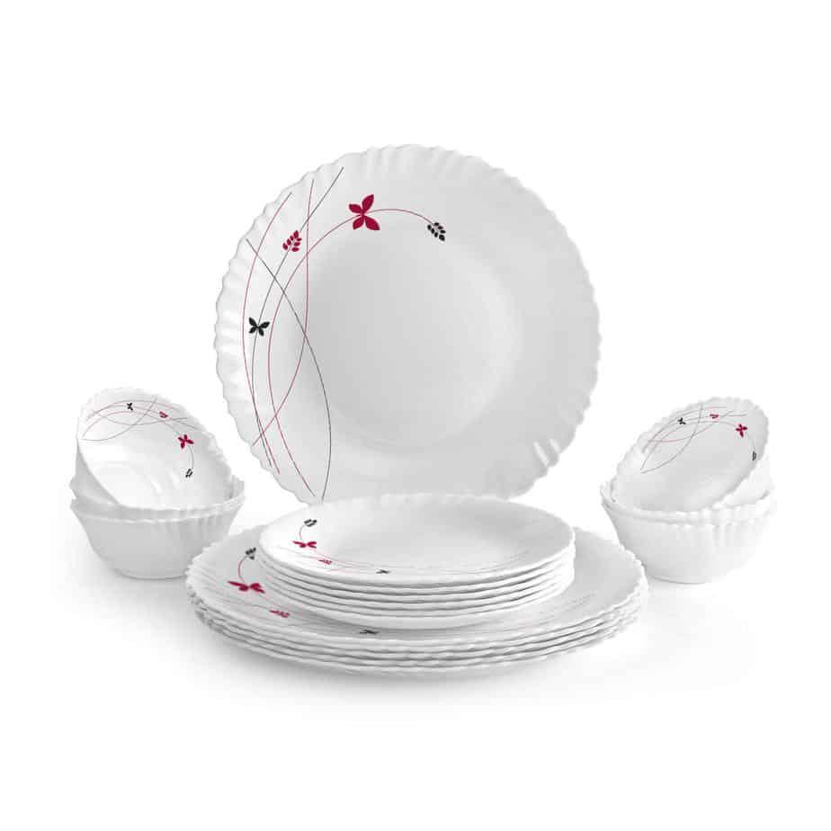 Cello Opalware Dinner Set