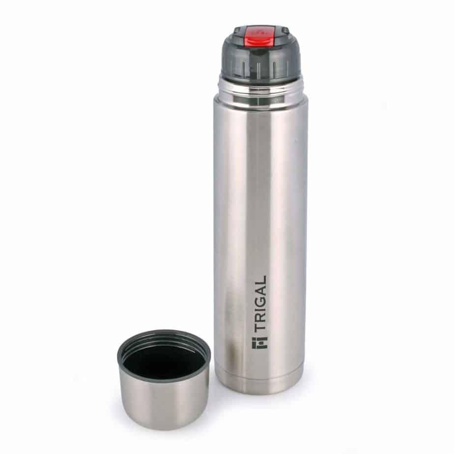 Trigal Thermos Steel Flip Lid Flask