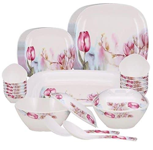 MILTON Tulip Square Dinner Set