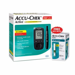 Accu Chek Active Blood Glucose Meter Kit