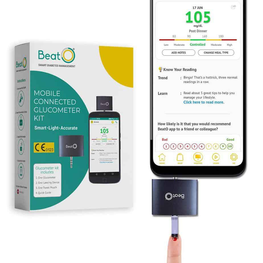 BeatO Smartphone Glucometer Kit