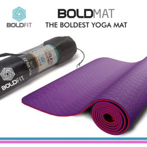 Boldfit yoga mat for women and men