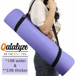Qatalyze 8mm TPE Yoga mat