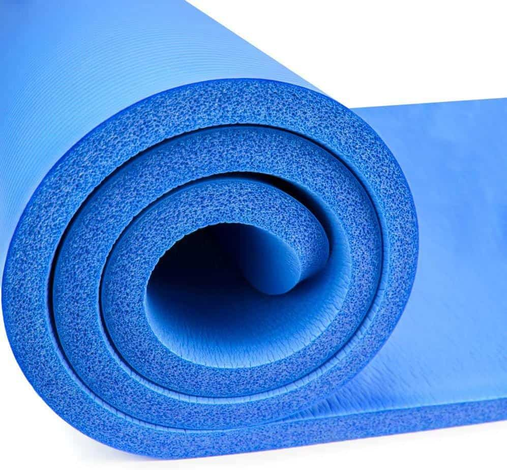 YOZO 10mm Extra Thick Yoga and Exercise Mat