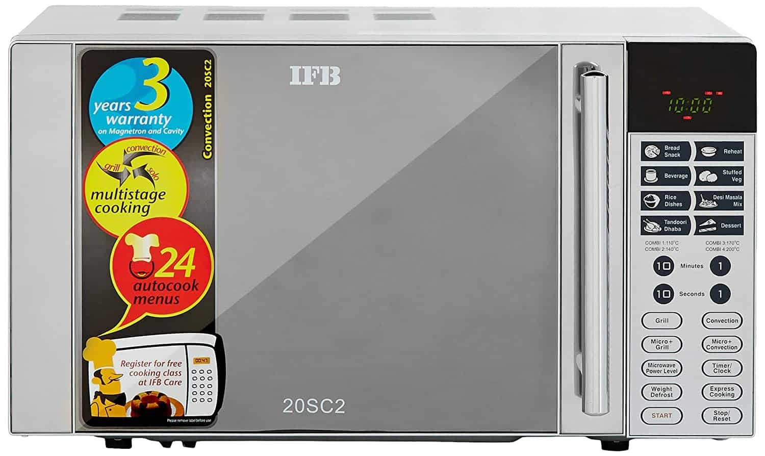 IFB Convection Microwave Oven - 20 L