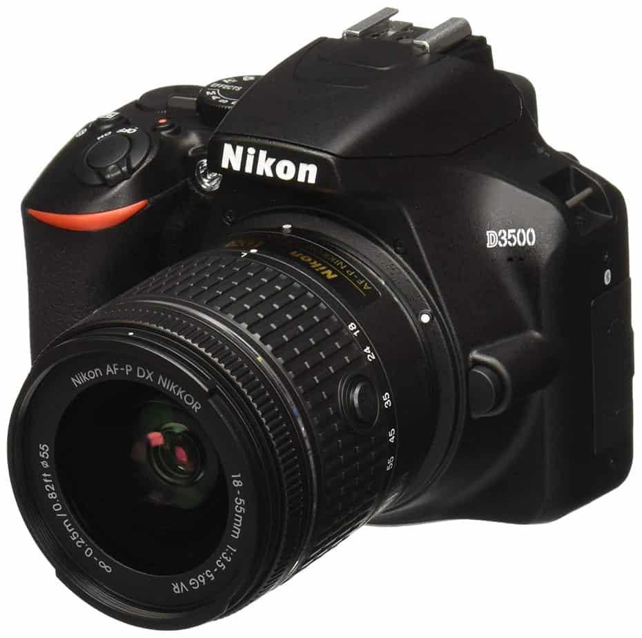 D3500 DX NIKKOR Digital SLR Camera Black from Nikon