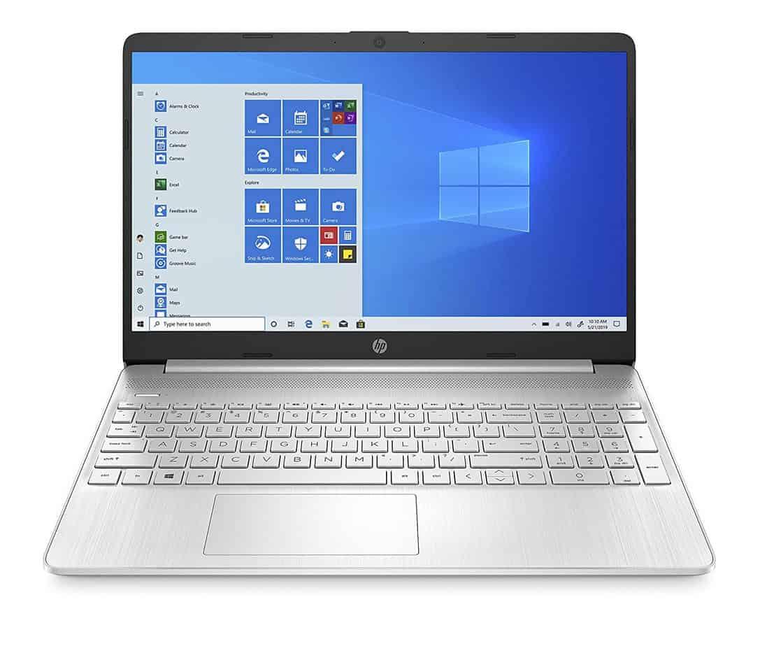 HP 10th gen laptop