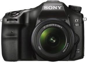 Sony Alpha A68K-best DSLR under 50000