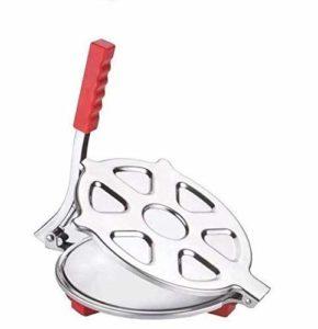 Heavy Stainless Steel Roti Presser for Roti and Khakra