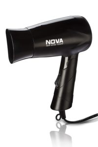 Nova hot and cold foldable hairdryer