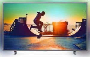 Philips 65 Inches Dark Silver LED TV