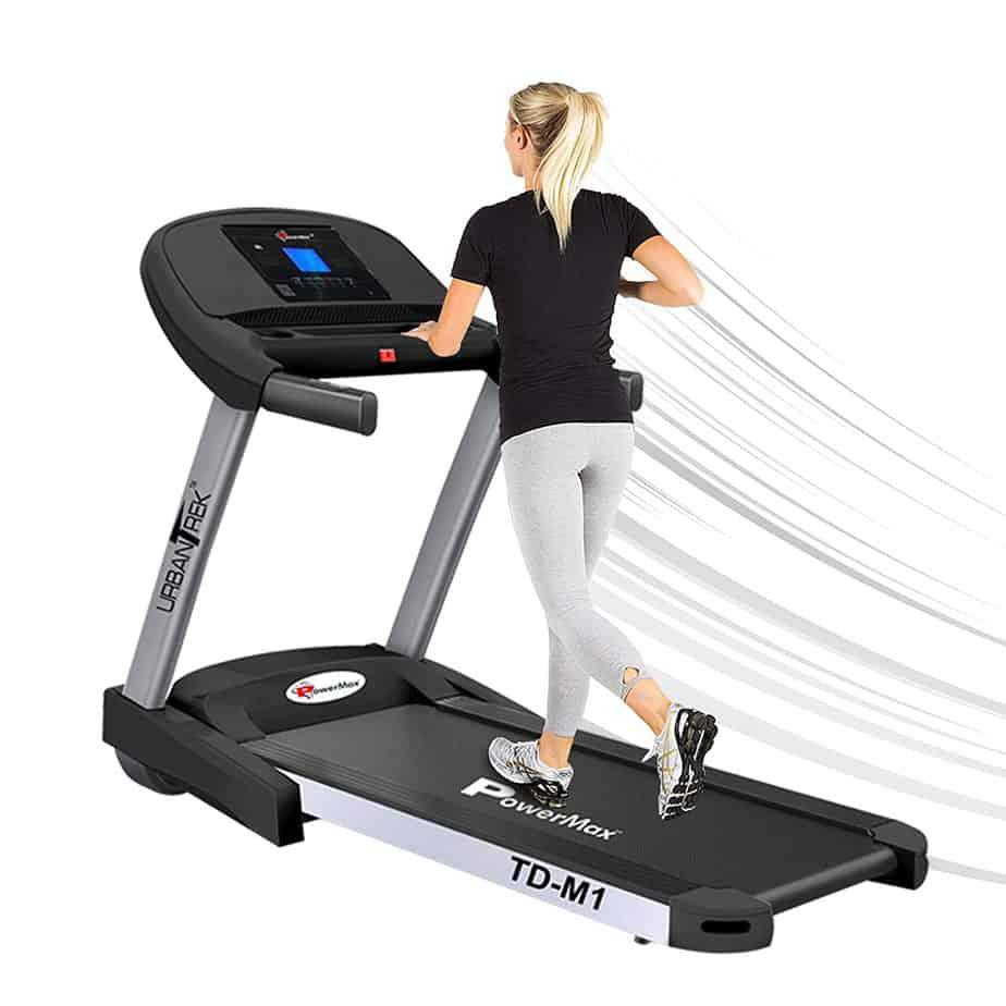 PowerMax Fitness TD-M1 2HP Treadmill