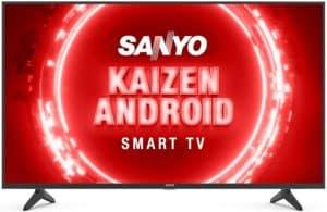 Sanyo 108cms kaizen series 4K Ultra HD television
