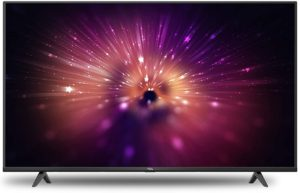 TCL 108cms 4K ultra HD Android smart TV