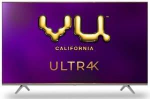 Vu 65 Inches 4K Ultra HD LED TV