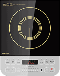 Induction cooktop banner