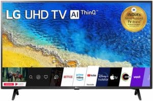 Smart 4K UHD 55 Inch LED TV from LG