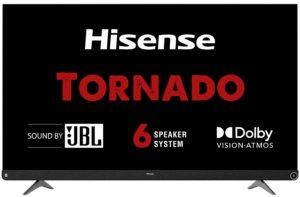 Hisense 139 cm 4K Ultra HD Smart Certified Android LED TV 55A73F (Black)