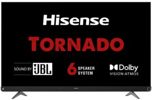 Hisense 55 inches Smart Certified Android 4K Ultra HD LED TV