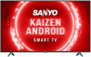 Sanyo 50 inches Kaizen Series 4K Ultra HD Android LED TV