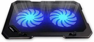 TopMate C302 10-15.6 Laptop Cooler Cooling Pad