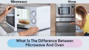 what is the difference between microwave and oven