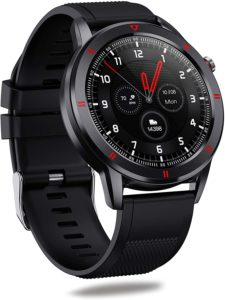 AQFIT W15 Waterproof | Activity Tracker | Metal Case | 4.2 Bluetooth  | for Men and Women | Full Touch Screen Display