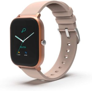 Pebble Pace Smart Watch with Full Touch Dynamic Colour Display, Multiple Sports Mode, Built-in oximeter, HR, Sleep and BP Monitoring