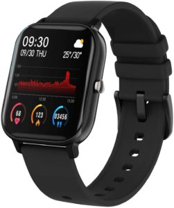Fire-Boltt SmartWatch SpO2  Full Touch 8 Days Battery Life, 1.4 inch,  IPX7 with BP, Sports Tracking, Heart Rate, Compatible with Android And iOS, and Fitness.