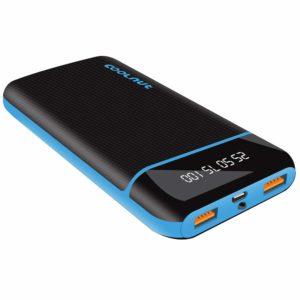Coconut 20000mAh QC Fast Charging Power Bank- It provides you 2 USB outputs