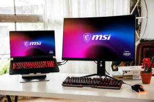 How to connect pc to a laptop as a monitor