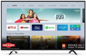 Mi 4X 138.8 cm (55 Inches) Android Ultra HD LED TV (Black)