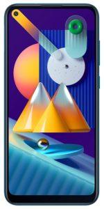 Samsung Galaxy M11 with 64 GB storage