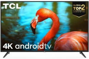 TCL 138.78 cm (55 inches) Android Smart LED TV 55P8 AI 4K UHD Certified (Black) (2019 Model)